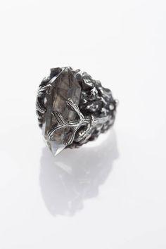 Nevada Cactus Ring - Crystal