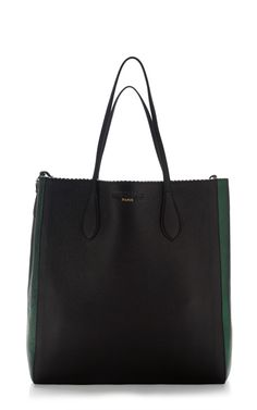 Two-Tone Borsa Leather Tote by Rochas