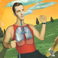 How to breathe while running and how to strengthen breathing muscles.