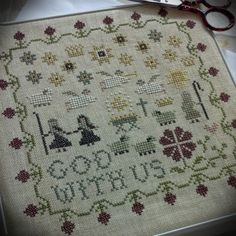 Mary's Sampler ll Completed ...