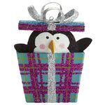 penguin gift, penguin christma, gift ornament, christma ornament