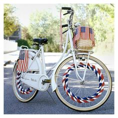 Patriotic Bike Decorations - DIY Thursday: 10 Patriotic 4th of July Projects