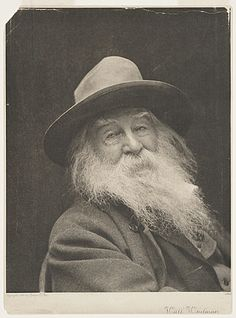 Citation: Walt Whitman, ca. 1887 / George Collins Cox, photographer. [John Flanagan photographs], Archives of American Art, Smithsonian Inst...