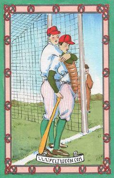 Batting Tips, Male Nude Figure Drawing Fine Art Erotic gay baseball romance