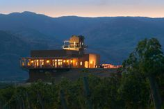 Burrowing Owl Estate Winery, Okanagan, BC.   We installed their wine library for them - excellent people, wine and food!