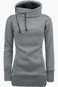 North face grey hoodie