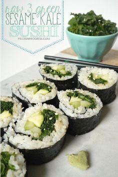 Raw 3 green Sesame K
