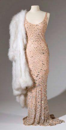 Marilyn Monroe's 'Mr. President' dress - 1962