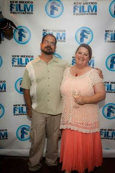 Me and my handsome man at the New Mexico Film Foundation Friendraiser.