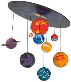 Solar System solar system project school, craft, scienc project, kid project, mobiles, solar system projects for kids, system mobil, solar system science project, school project