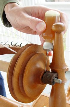 The Spinner's Glossary by Lee Juvan. Free tutorial on spinning wheel maintenance on Knitty at http://www.knitty.com/ISSUEss12/KSFEATss12glossary.php