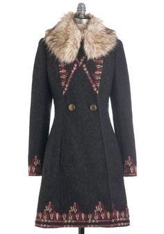 Plenty by Tracy Reese Turn to the Tundra Coat, #ModCloth