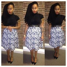 Luvvin' Chrisette Michele in HAVANA TWISTS! Dark-Hair-Don't-Care!