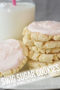 Swig Sugar Cookie Recipe. This is the cookie that all other cookies for the rest of your life will be compared to..