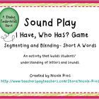 CVC This I Have, Who Has...Segmenting and Blending Short A game set will put your students on the path to becoming expert decoders.    This game includ...