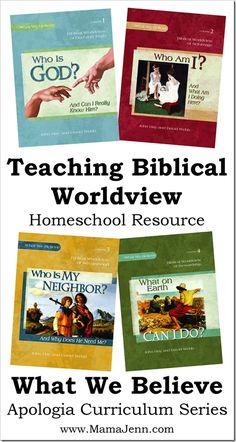 What We Believe Homeschool Curriculum « Mama Jenn {the blog}