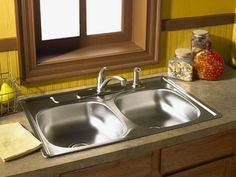 How to Make Your Stainless Steel Sink Shine