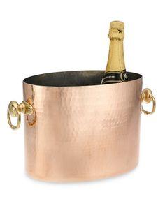 Mauviel Copper Champagne Bucket