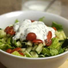 Yogurt Ranch Dressing