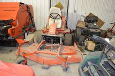 1994 Jacobsen Turf Cat Rotary Parts Machine non-working for sale