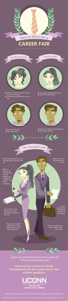 How to dress for a career fair