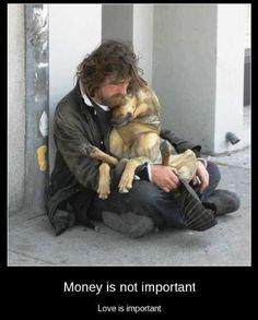this man, animals, god, heart, friends
