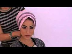 Head coverings - How to tie a tichel head cover (Jewish Style)
