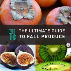 The Ultimate Guide to Fall Produce: 19 Seasonal Fruits and Vegetables to Eat This Fall #fall #fruit #veggies #seasonalproduce