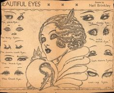NELL BRINKLEY! vintag, nell brinkley, 1920, beauti eye, makeup, art, inspir, illustr, eyes