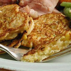 Easter Side Dishes | Corn and Parsnip Cakes | CookingLight.com