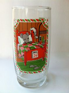 Christmas Glass Night before Christmas by TheDearestDollhouse, $12.00