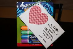 Apples 4 Bookworms: Teacher Appreciation Gift- EXPO Markers!
