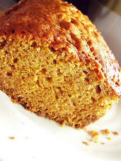 Paleo pumpkin bread (sub honey or agave for pureed apple for whole 30 challenge)
