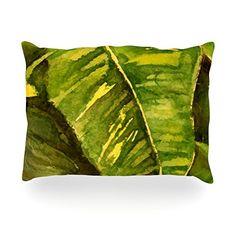 "Kess InHouse Rosie Brown ""Tropical Garden"" Leaf GreenOblong Rectangle Throw Pillow, 14 by 20-Inch Kess InHouse http://www.amazon.com/dp/B00N5RFMGW/ref=cm_sw_r_pi_dp_2korub1ZX2E6D    #pillow #throwpillow #homedecor  #amazon #kessinhouse"