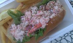 Jim's Dock - Wakefield, Rhode Island lobster roll