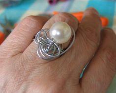 laCivettasulcomò:idee creative ,bigiotteria,moda ,riciclo: tutorial #anello fai da te