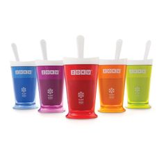 slushi, gift, frozen yogurt, gadget, fruit smoothies, zoku slush, frozen drinks, alcoholic drinks, shake maker