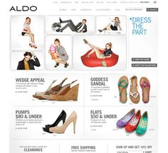 aldoshoes.com ecommerce website