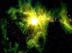 yellow orion nebula