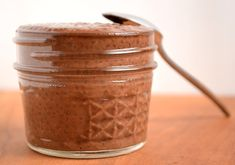 Chocolate Chia Seed Pudding. We suggest using Unsweetened Almond Breeze almond milk for this healthy dessert (or breakfast!) recipe. #almondmilk #almondbreeze