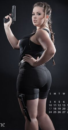 Don't shoot me big girl for thinking you have a great ass.
