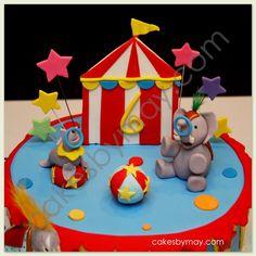 Carnival Circus Birthday Cake
