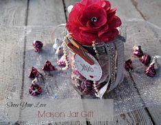 Mason Jar Gift for V