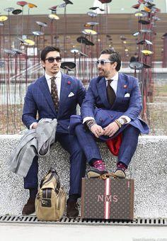 Men's Style at Pitti Uomo 85