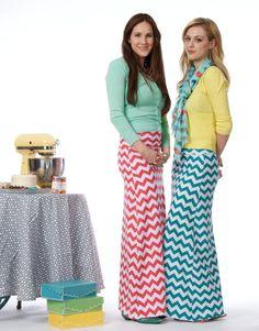 Teen/Adult Printed Aline Maxi Skirt