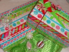 my candyland gift wrap