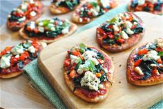 Vegetarian Food - Spinach Pizza