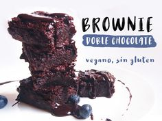 Brownie doble chocol