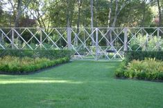 The Landscape Designer Is In: Elegant Deer Fencing, Hamptons Edition - Gardenista