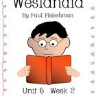 """This packet is a Fifth Grade Treasures Resources for """"Weslandia"""".  These resources compliment 5th grade Treasures (Unit 5 Week 2) """"Weslandia"""".     Re..."""
